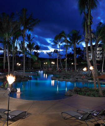 Koloa Landing Resort Pool Poipu Beach Kauai Hawaii