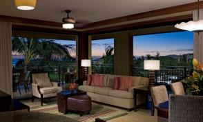 Koloa Landing Resort Living Room Poipu Beach Kauai Hawaii