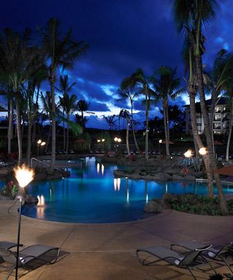 Koloa Landing Resort Pool Poipu Beach Kauai Hawaii